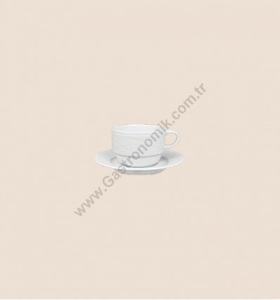 Satürn Çay - Nescafe Fincanı Tabaklı