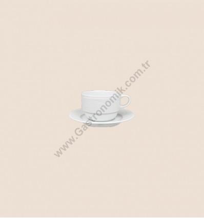 Satürn Kahve Fincanı Tabaklı