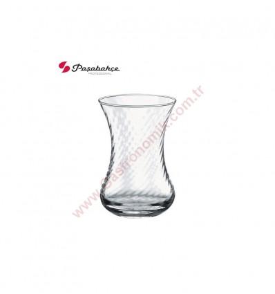Paşabahçe 42781 İnce Belli Optikli Çay Bardağı