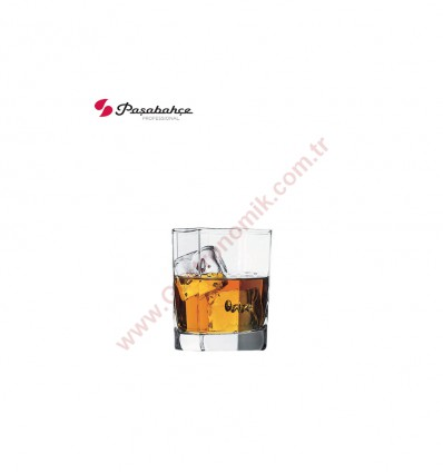 Paşabahçe 42083 Köşem Viski Bardağı
