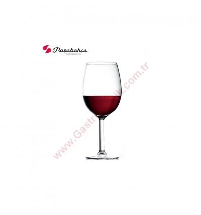 Paşabahçe 44984 Primetime Bordo Kırmızı Şarap Kadehi