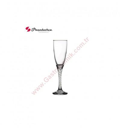 Paşabahçe 44307 Twist Flüt Şampanya Bardağı