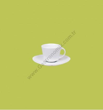 Elips Çay - Nescafe Fincanı Tabaklı