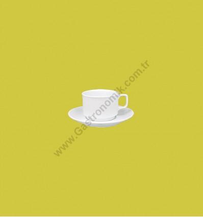 Ent Jumbo Çay Fincanı Tabaklı