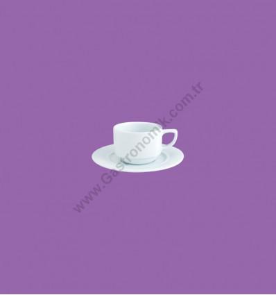 Floransa Çay Fincanı, Tabaklı
