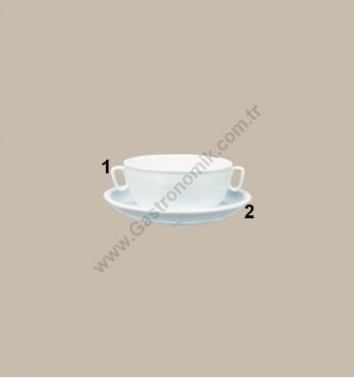 Güral Porselen Kase Tabağı (2)