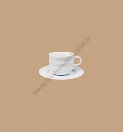 Lizbon Çay - Nescafe Fincanı Tabaklı