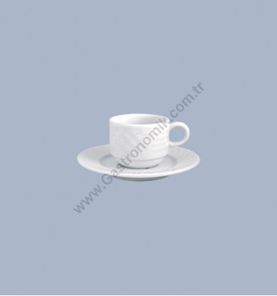 London Çay Fincanı Tabaklı