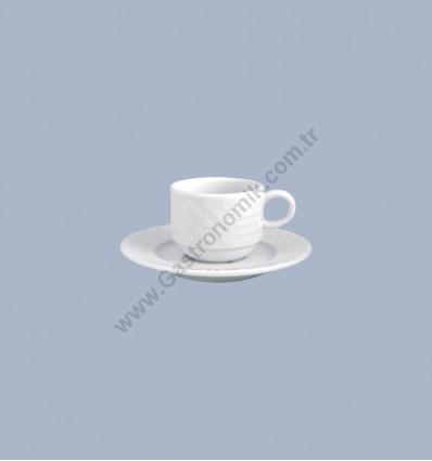 London Çay - Nescafe Fincanı Tabaklı