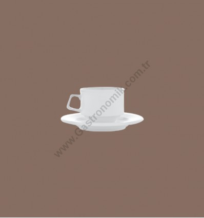 Moskova Kahve Fincanı Tabaklı