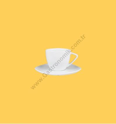 Pera Nescafe Fincanı Tabaklı