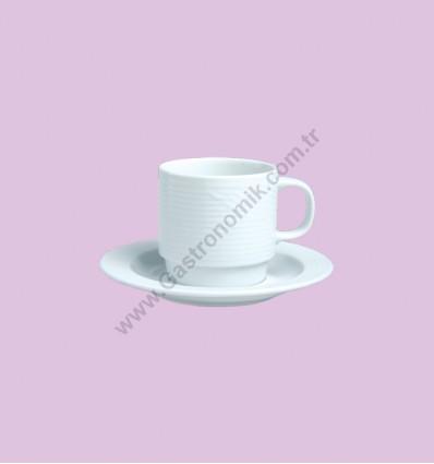 Roma Çay - Nescafe Fincanı Tabaklı